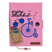 Picture of BiggDesignEnjoy Istanbul Felt Notebook