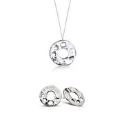Picture of Biggdesign Trace Necklace Earring Set