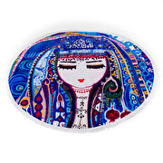 Picture of BiggDesign Mavi Su Round Beach Towel