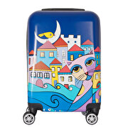 Picture of BiggDesign Owl And City Suitcase 20 ""