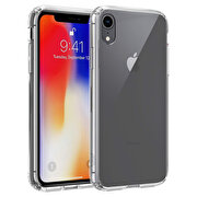 Picture of Buff  iPhone XR Air Hybrid Case Crystal Clear