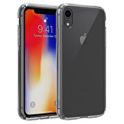 Picture of Buff  iPhone XR Air Hybrid Case Smoke Black