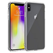 Picture of Buff  iPhone Xs Max Air Hybrid Case Crystal Clear Black
