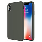 Picture of Buff iPhone Xs Max Rubber Fit Case Dark Olive