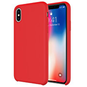 Picture of Buff iPhone Xs Max Rubber Fit Case Red