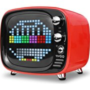Picture of Divoom Tivoo Retro Bluetooth Speaker Red