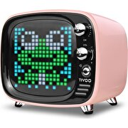 Picture of  Divoom Tivoo Retro Bluetooth Speaker Pink
