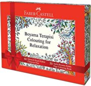 Picture of Faber-Castell Coloring for Relaxation (60 Pieces Felt Pen + Coloring Book )