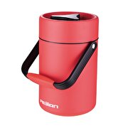 Picture of Feijian FF-200-01A 2000 ml Red Steel Thermos