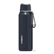 Picture of Feijian FS-060-01A-1 600 ml Navy Blue Steel Thermos