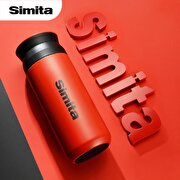 Picture of Feijian ST-040-30A 400 ml Red Steel Thermos