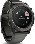 Picture of  Garmin Fenix 5x Sapphire -Metal Strap / Smart Sport Watch