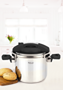 Picture of Hisar Neptun Pressure Cooker Black