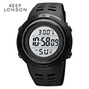 Picture of Keep London Body and Ambient Temperature Meter Lcd Display Digital Unisex Wristwatch