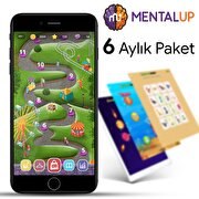 Picture of MentalUP Online Educational Kids Game - 6 Month Subscription Package