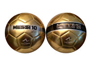 Picture of Messi Soccer Ball No. 5 Silver Band