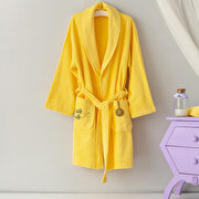 Picture of Milk & Moo Bee Whisk Velvet Mother Bathrobe