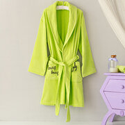 Picture of Milk & Moo Sprat Frog Velvet Mother Bathrobe