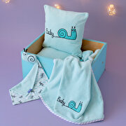 Picture of Milk and Moo Sangaloz Baby Blanket Set