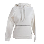 Picture of SLAZENGER 33219012 Women s Hooded Sweatshirts White M