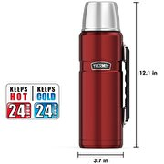 Resim  Thermos SK 2010 Stainless King Large Cranberry 1.2 lt.Termos 140936