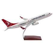 Resim   TK Collection B737-800 1/100 ABS Model Uçak