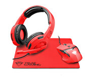Picture of  Trust Spectra Gaming Bundle Red