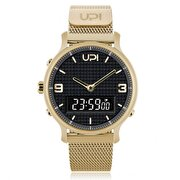 Picture of  Upwatch Double Steel Gold Black Unisex Kol Saati