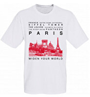 Picture of  TK Collection Paris T-Shirt Large