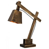 Picture of  Avonni ML-9041-1E Antique Plated Table Lamp