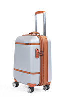 Picture of  Baggaj V209 ABS Small Grey Luggage