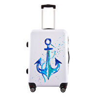 "Picture of BiggDesign  AnemoSS Anchor Cabin Size Suitcase 20"", designed by Turkish Artist"
