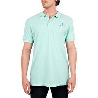 Picture of Biggdesign Anemoss Sailboat Pattern Men's Polo Collar T-Shirt S