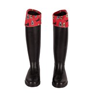 Picture of Biggdesign Cats in Istanbul Rain Boots - Size 36, Special Design by Turkish Designer