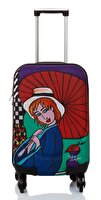 Picture of  BiggDesign 'Girl with Umbrella' Artist Designed Luggage, 18""