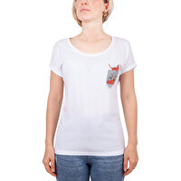 Picture of Biggdesign Pocket Cat T-Shirt-Small Size