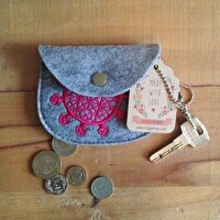 Picture of BiggDesign Sun Disk Felt Coin Purse