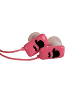 Picture of BiggSound Pink Moustache Earphones