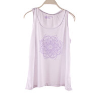 Picture of BiggYoga Karma Women Tank Top - White