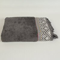 Picture of  Ecocotton Asya Anthracite 100% Original Turkish Cotton Towel, 50*90 Cm