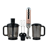 Picture of Korkmaz A447-09 Mia Mega Blender Set Rosagold/Chrome