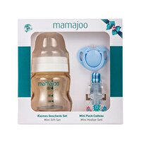 Picture of Mamajoo Gold Mini Gift Set for Babies, 150 ml Blue