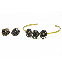Picture of  Tash Design Bracelet & Earrings Set