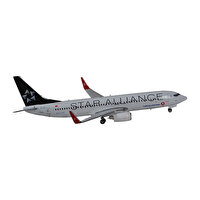 Picture of  TK Collection Star Alliance B737-800 1/400 Airplane Model