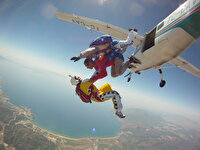 Resim    THK Tandem Paraşüt Atlayışı