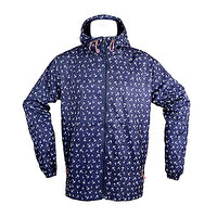 Picture of AnemosS Anchor Patterned Men Raincoat S