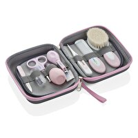 Picture of Babyjem BABY Grooming Kit, 9 Pieces, For Newborn, Pink