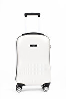 Picture of Baggaj V213 PC Medium Size White Suitcase
