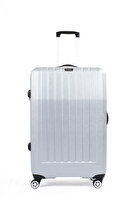 Picture of Baggaj V303 ABS Luggage Silver - Medium
