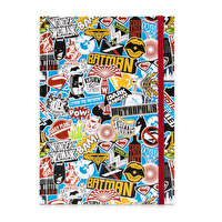 Picture of Batman v Superman Medium Size Notebook